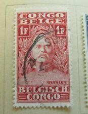 Belgisch Kongo Congo Belge Belgian Congo 1928 1fr fine used stamp A13P22F26