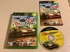 Rallisport Challenge 1 Original alte XBOX Spiel Rally Autorennen fastpost Retro