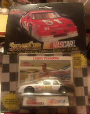 RACING CHAMPIONS NASCAR 1990 EARNHARDT BACK LARRY PEARSON 16 BUICK BROWN BUMPER