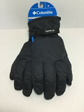 New Columbias Mens Black Gloves