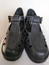 LIPSTIK Synthetic Denial Black Matt Platform Shoes brown mark-size 8 RRP $69