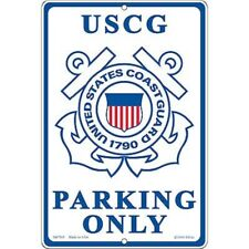U.S. COAST GUARD PARKING ONLY - LARGE SIGN - NEW