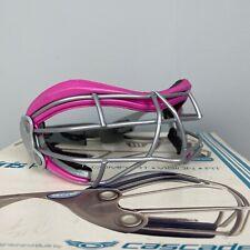 Cascade Iris Pro Pink Girls Lacrosse Eye Protector
