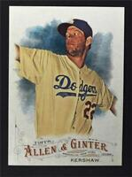 2016 Topps Allen and Ginter #299 Clayton Kershaw - NM-MT