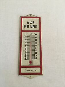 vintage Ailor Mortuary Thermometer from Maynardville,Tn-Tennessee