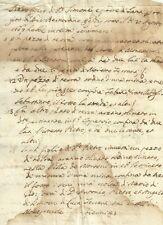Castello di Monestevole Preggio Umbertide Documento Seicentesco 1667