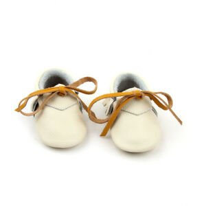 Starbie baby Moccasins white ivory baby Moccasin toddler moccasin shoes oxfords