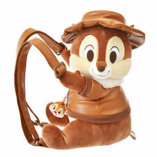 Disney Store JAPAN CHIP & DALE RESCUE RANGERS 2019 Plush Backpack F/S New