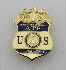 U.S.A Metal badges ATF badge