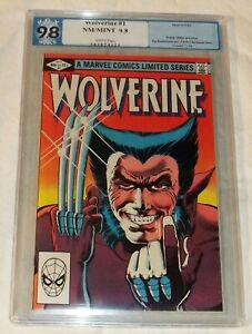 WOLVERINE #1 LIMITED SERIES(1982)PGX 9.8-Frank Miller Art