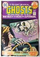 Ghosts #28 True Tales of the Weird and Supernatural DC GD