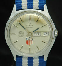 1980 TIMEX USA OLYMPIC TEAM Miracle On Ice WATCH SUPER RARE VTG Hockey Winter 80