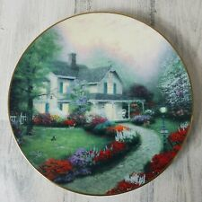 Home Sweet Home Plate Thomas Kinkade Home Is Where The Heart Is 1st Issue