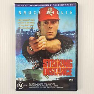 Striking Distance DVD - Bruce Willis - Region 4 - TRACKED POST