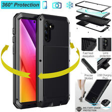 Heavy Duty Shockproof Aluminum Metal Case Cover For Samsung Note 10+ 9 S10+ S9+
