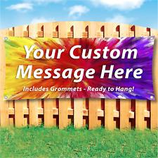 Custom Banner Design Advertising Vinyl Banner Sign Many Sizes Available