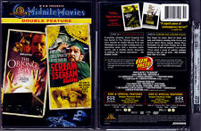 DVD Midnite Movies Poe THE OBLONG BOX+SCREAM AND AGAIN Vincent Price R1 OOP NEW