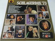 38526 - SCHLAGERBOX '73 - HÖRZU VINYL LP (GITTE HEINO PETRA PASCAL ADAM & EVE)