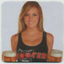 Sexy Hooters Blonde Girl Bier Coaster - Beer and Wings