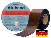 Bitumenband Aluband Dichtband - Breite 50 mm Braun