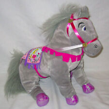 "2003 Disney Applause 14"" Sleeping Beauty Aurora Gray Plush Horse Stuffed Animal"