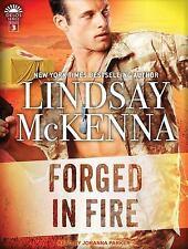 Delos: Forged in Fire 3 by Lindsay McKenna (2016, CD, Unabridged)