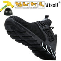 Men's Steel Toe Work Boot Breathable Walking Sneakers Blade Outdoor Sport Shoes