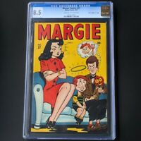Margie Comics #37 (1947) 💥 CGC 8.5 Davis Crippen Pedigree 💥 2ND HIGHEST Marvel