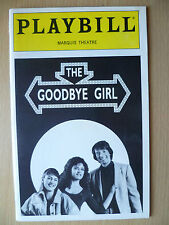 1993 PlayBill Marquis Theatre- GOODBYE THE GIRL by Michael Kidd