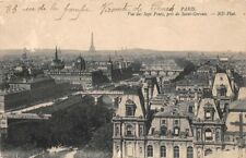 PARÍS - vista de la siete tomado de puentes de St Gervais