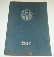 Utica Free Academy Yearbook 1937 High School Academician HS NY New York