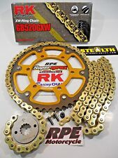 '91-96 Honda CBR600 F2/F3 RK GXW Gold 520 QA SuperSprox Chain and Sprocket Kit