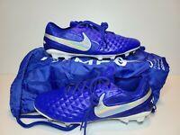Nike Tiempo Legend 8 Elite Fg ACC Blue/White Men Sizes 8.5/10.5 (AT5293-414)