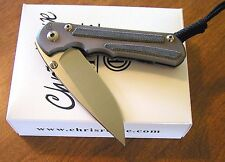 CHRIS REEVE New Large Sebenza 25 Micarta Inlay With S35VN Blade Knife/Knives