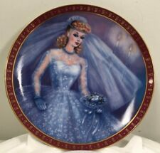 1959 Barbie Bride-To-Be Limited Edition The Danbury Mint Plate