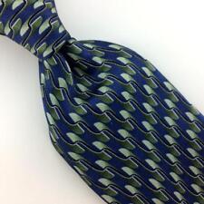 MARK JASON WAVES BLUE GREEN SILK BOYS Children Silk Necktie Ties H3-463 New