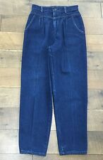 Vtg 80s 90s Levis Plowboy Jeans High Waist Pleated Great Tag Womens 11 Waist 28""