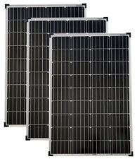 3 Stück Solarmodul 100 Watt Mono Solarpanel  Solarzelle 100 Watt 12V NEU 92053