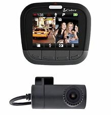 "Cobra Electronics CDR895D CDR 895 D Drive HD 2"" LCD Screen Dual-Channel Dash Cam"