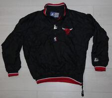 Chicago Bulls NBA Retro 90s Denim Starter Jacket jordan