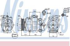SKODA FABIA 6Y Air Con Compressor 1999 on AC Conditioning 07E01328 6Q080806G New