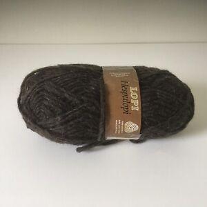 Brown Alafoss Hespulopi Lopi Icelandic Wool Brown 52
