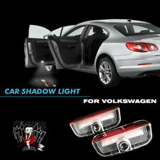 For VW Passat BETTY BOOP PUDGY Logo Car Door Led Projector Shadow Welcome Light