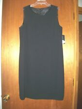 Laura Scott Womens Classic Black Dress SIZE 14P NWT