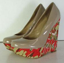 Leather Slip On Medium Width (B, M) Heels for Women