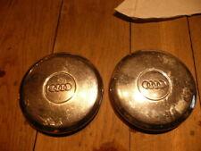2 enjoliveurs ancien chrome  pour audi diametre exterieur 17 cm