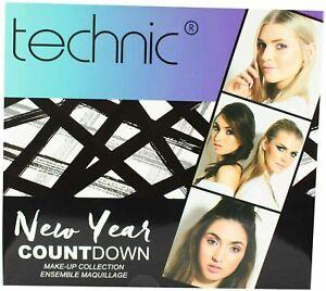 Make-Up Cosmetics Advent Calendar New Year Countdown Technic