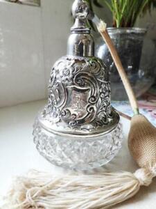 Sterling Silver Victorian Atomiser Perfume Bottle HM 1897 FW Turton Ltd Birm.