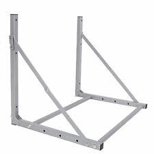 Folding 4 Tire Wheel Rack Storage Holder Heavy Duty Garage Wall Mount Steel New