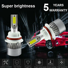 LED Headlight COB 9004 HB1 1500W 225000LM Conversion Kit HI/LOW Beam Lamp 6000K